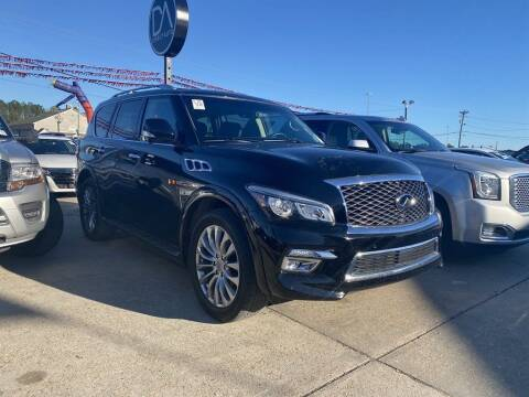 2016 Infiniti QX80 for sale at Direct Auto in D'Iberville MS