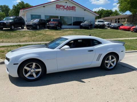 2013 Chevrolet Camaro for sale at Efkamp Auto Sales LLC in Des Moines IA