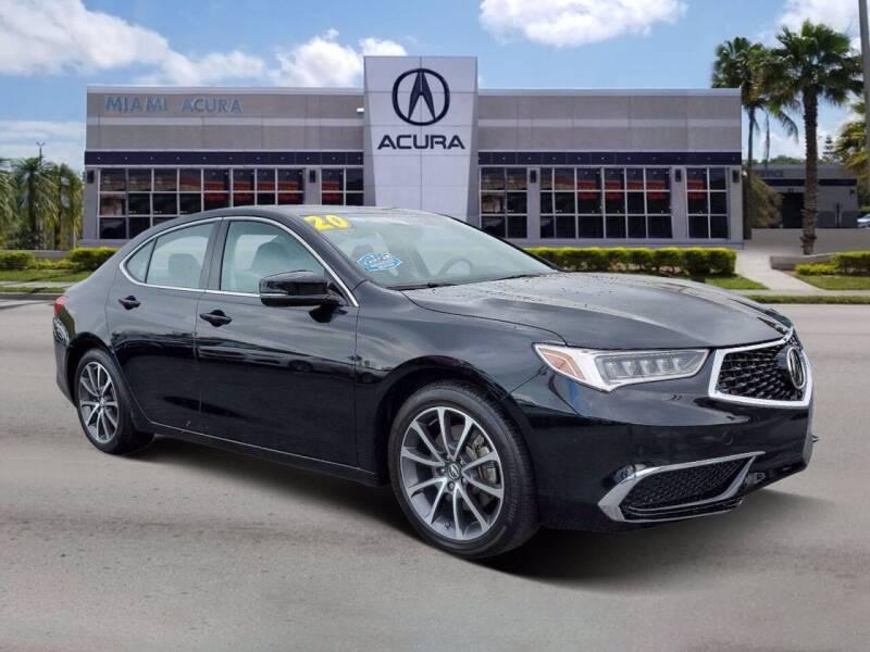 2020 Acura TLX for sale at MIAMI ACURA in Miami FL