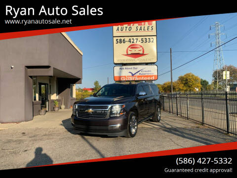 2015 Chevrolet Suburban for sale at Ryan Auto Sales in Warren MI