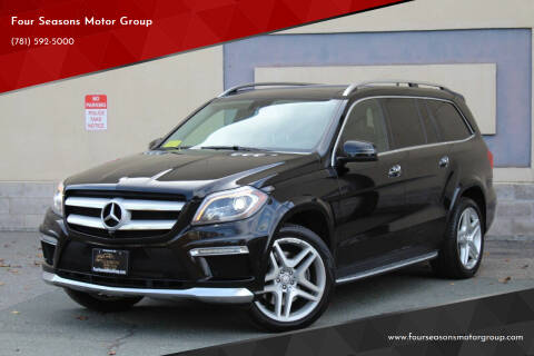 2015 Mercedes-Benz GL-Class for sale at Four Seasons Motor Group in Swampscott MA