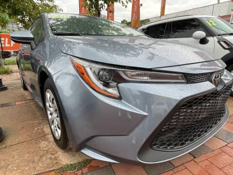 2020 Toyota Corolla for sale at TOP SHELF AUTOMOTIVE in Newark NJ