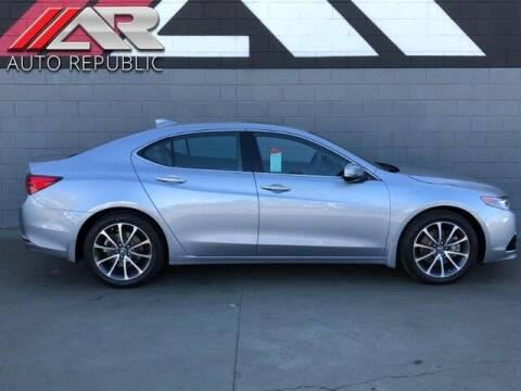 2016 Acura TLX for sale at Auto Republic Fullerton in Fullerton CA
