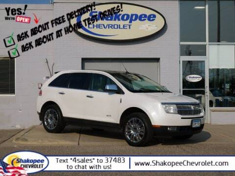 2010 Lincoln MKX for sale at SHAKOPEE CHEVROLET in Shakopee MN