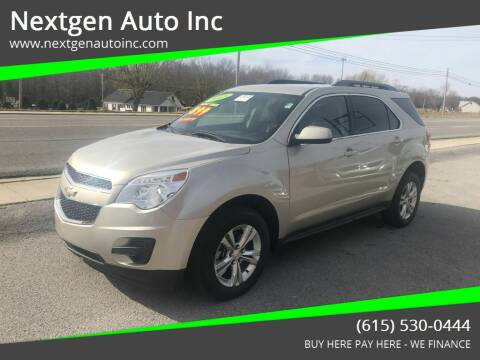 2015 Chevrolet Equinox for sale at Nextgen Auto Inc in Smithville TN