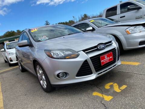 2012 Ford Focus for sale at Irving Auto Sales in Whitman MA