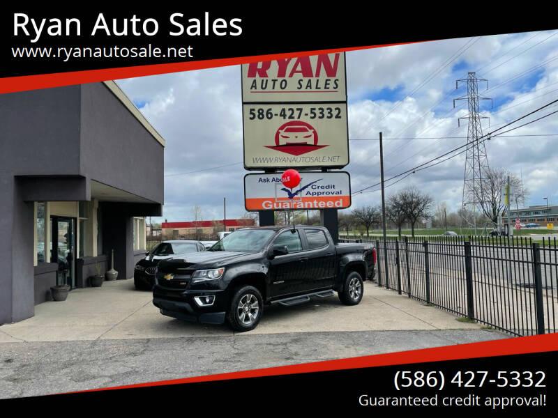2016 Chevrolet Colorado for sale at Ryan Auto Sales in Warren MI
