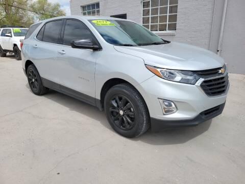 2019 Chevrolet Equinox for sale at CHURCHILL AUTO SALES in Fallon NV