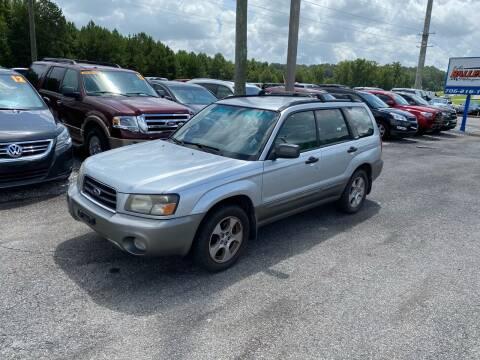 2004 Subaru Forester for sale at Billy Ballew Motorsports in Dawsonville GA