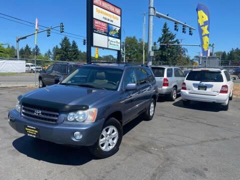 2003 Toyota Highlander for sale at Tacoma Autos LLC in Tacoma WA