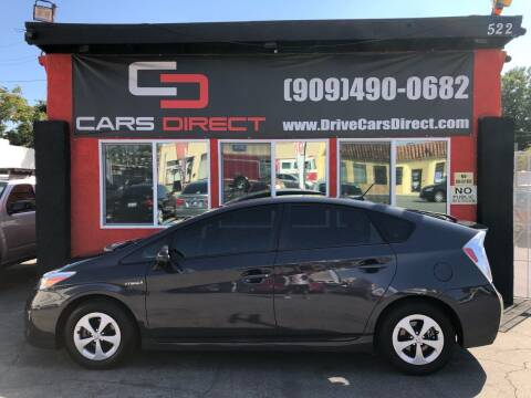 2015 Toyota Prius for sale at Cars Direct in Ontario CA