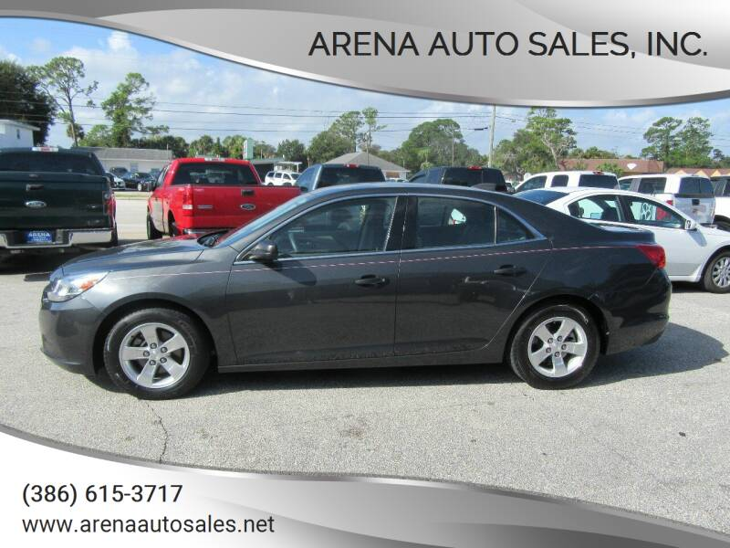 2015 Chevrolet Malibu for sale at ARENA AUTO SALES,  INC. in Holly Hill FL