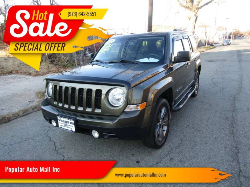 2015 Jeep Patriot for sale at Popular Auto Mall Inc in Newark NJ