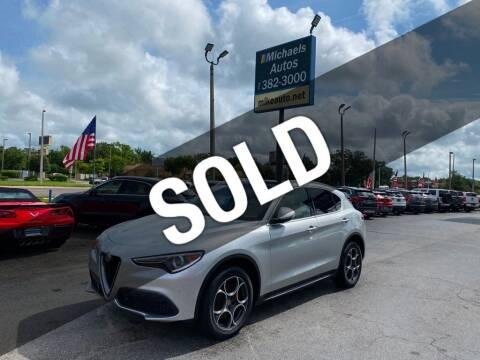 2018 Alfa Romeo Stelvio for sale at Michaels Autos in Orlando FL