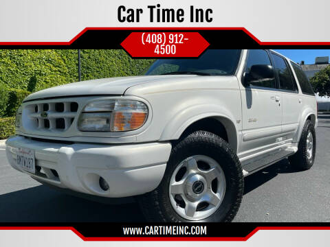 2000 Ford Explorer for sale at Car Time Inc in San Jose CA
