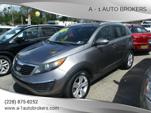 2011 Kia Sportage for sale at A - 1 Auto Brokers in Ocean Springs MS