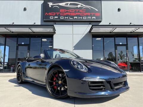 2016 Porsche 911 for sale at Exotic Motorsports of Oklahoma in Edmond OK