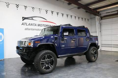2008 HUMMER H2 SUT for sale at Atlanta Motorsports in Roswell GA