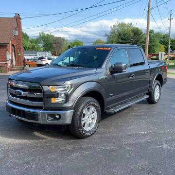 2015 Ford F-150 for sale at RUSH AUTO SALES in Burlington NC
