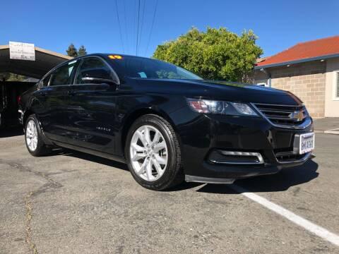 2019 Chevrolet Impala for sale at Martinez Truck and Auto Sales in Martinez CA