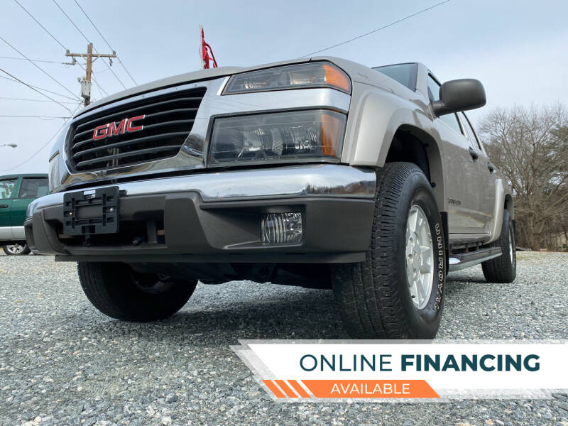 2005 GMC Canyon for sale at Prime One Inc in Walkertown NC