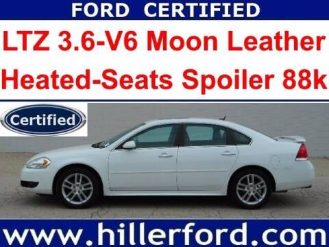 2013 Chevrolet Impala for sale at HILLER FORD INC in Franklin WI