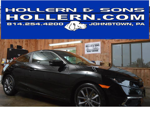2020 Honda Civic for sale at Hollern & Sons Auto Sales in Johnstown PA