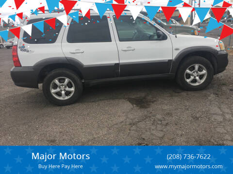 2005 Mazda Tribute for sale at Major Motors in Twin Falls ID