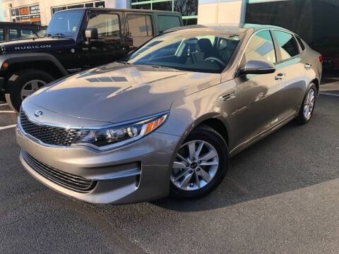 2018 Kia Optima for sale at Best Auto Group in Chantilly VA