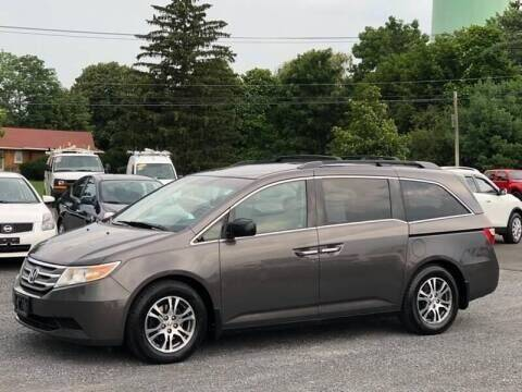 2012 Honda Odyssey for sale at Broadway Garage of Columbia County Inc. in Hudson NY