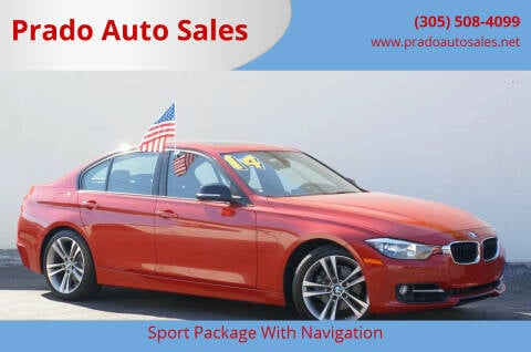 2014 BMW 3 Series for sale at Prado Auto Sales in Miami FL