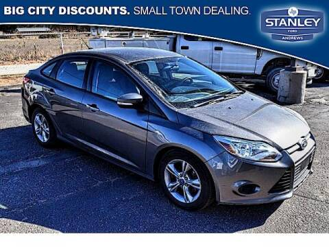 2013 Ford Focus for sale at STANLEY FORD ANDREWS in Andrews TX