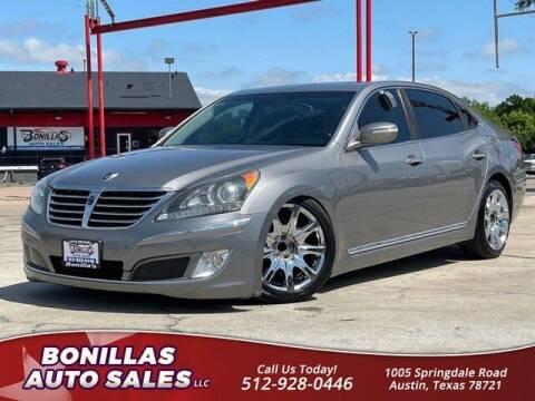 2011 Hyundai Equus for sale at Bonillas Auto Sales in Austin TX