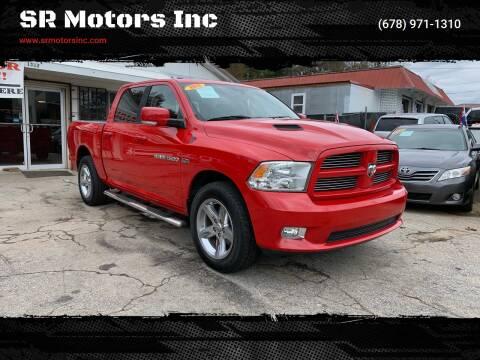 2012 RAM Ram Pickup 1500 for sale at SR Motors Inc in Gainesville GA
