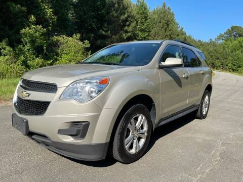 2015 Chevrolet Equinox for sale at Carrera AutoHaus Inc in Clayton NC