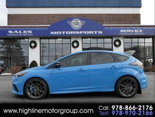 2016 Ford Focus for sale at Highline Group Motorsports in Lowell MA