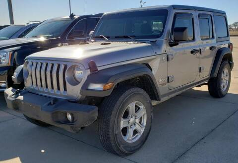 2018 Jeep Wrangler Unlimited for sale at Lipscomb Auto Center in Bowie TX