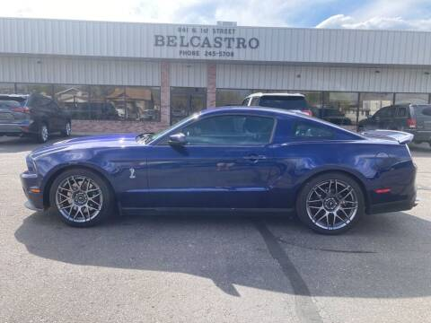 2012 Ford Shelby GT500 for sale at Belcastro Motors in Grand Junction CO