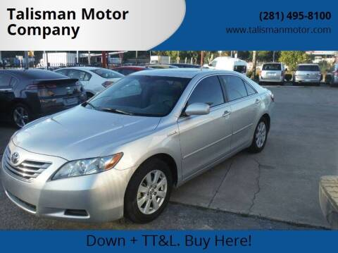 2009 Toyota Camry Hybrid for sale at Don Jacobson Automobiles in Houston TX