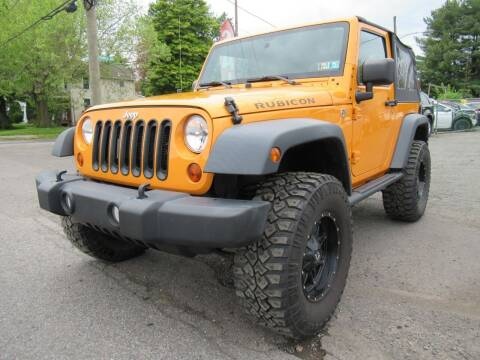 2012 Jeep Wrangler for sale at PRESTIGE IMPORT AUTO SALES in Morrisville PA
