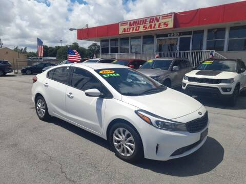 2018 Kia Forte for sale at Modern Auto Sales in Hollywood FL