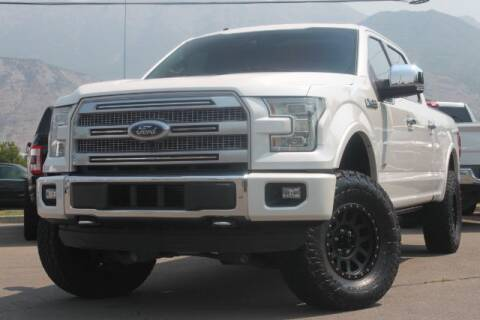 2015 Ford F-150 for sale at REVOLUTIONARY AUTO in Lindon UT