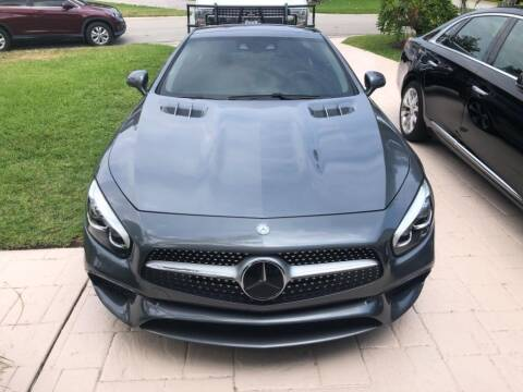 2017 Mercedes-Benz SL-Class for sale at AUTOSPORT in Wellington FL