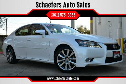 2014 Lexus GS 350 for sale at Schaefers Auto Sales in Victoria TX