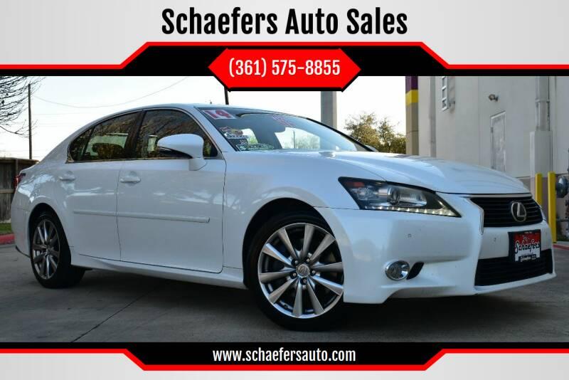 2014 Lexus GS 350 for sale at Schaefers Auto Sales in Victoria TX