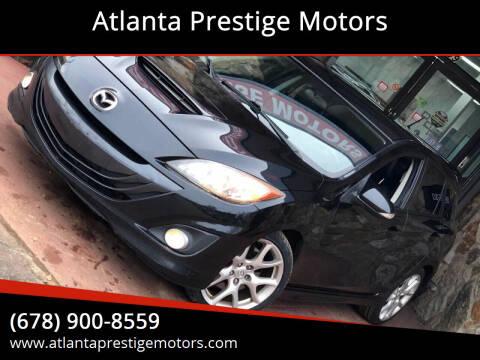 2011 Mazda MAZDASPEED3 for sale at Atlanta Prestige Motors in Decatur GA