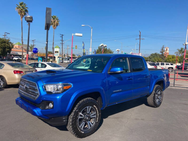 2016 Toyota Tacoma for sale at Pacific West Imports in Los Angeles CA