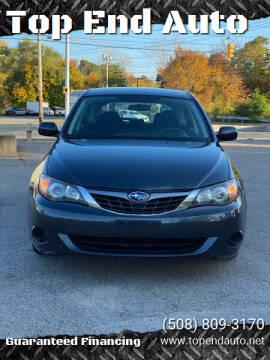 2009 Subaru Impreza for sale at Top End Auto in North Atteboro MA