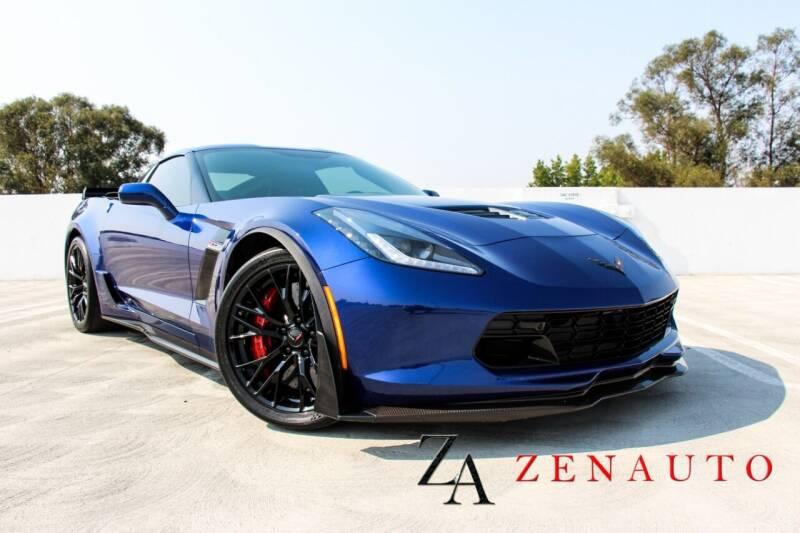 2018 Chevrolet Corvette for sale at Zen Auto Sales in Sacramento CA