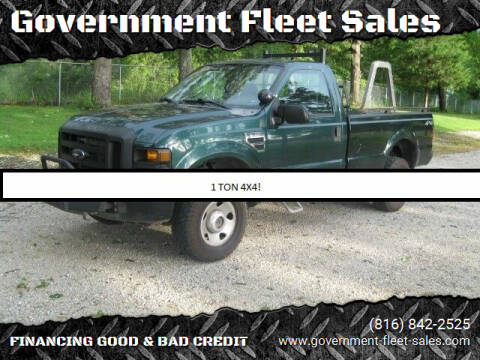 2008 Ford F-350 Super Duty for sale at Government Fleet Sales in Kansas City MO